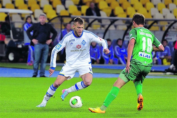Андрей Ярмоленко. Новая прима украинского футбола