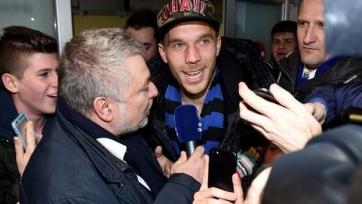 Подольски: «Хочу помочь «Интеру» попасть в Лигу чемпионов»