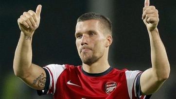 Лукас Подольски сердечно поблагодарил лондонцев и фанов «Арсенала»