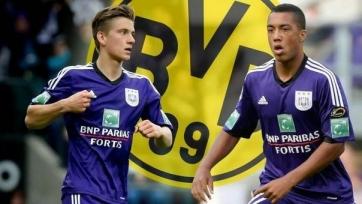 «Боруссия» нацелилась на двух игроков «Андерлехта»