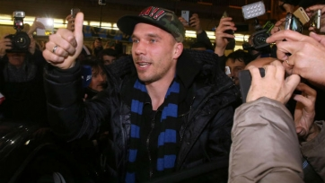 Лукаш Подольски хочет стать легендой «Интера»