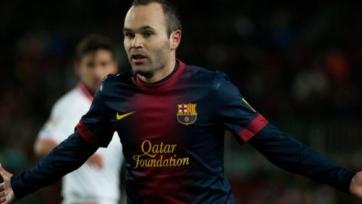 Иньеста считает, что «Барселона» в Сан-Себастьяне сыграла «хорошо»
