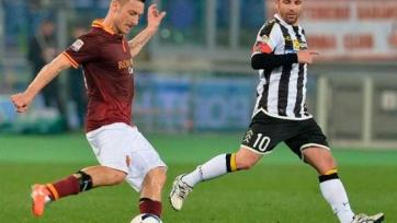 «Рома» увезла минимальную победу из Удине
