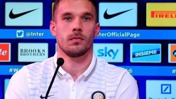 Лукас Подольски: «После общения с Манчини решил принять предложение «Интера»