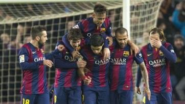 «Барселона» разгромила «Эльче»