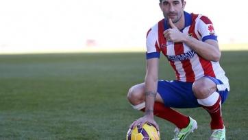 Кани официально представлен в качестве футболиста «Атлетико»