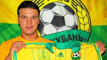 Официально: Ткачев – футболист краснодарской «Кубани»