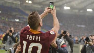 Франческо Тотти сыграл 40-й дерби в карьере