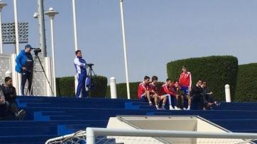 Игроки «Баварии» посетили тренировку «Зенита»