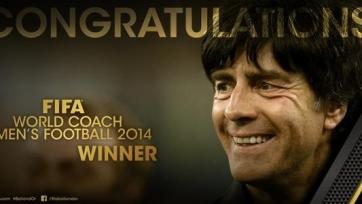Йоахим Лев – лучший тренер 2014-го года