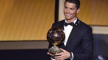 Криштиану Роналду – обладатель «Золотого Мяча-2014»