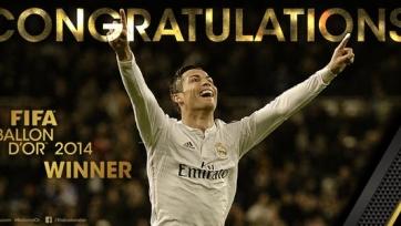 Криштиану Роналду: «Я хочу оставаться лучшим футболистом мира»