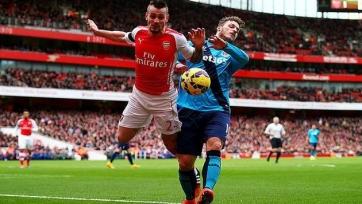 «Арсенал» на три месяца теряет основного защитника