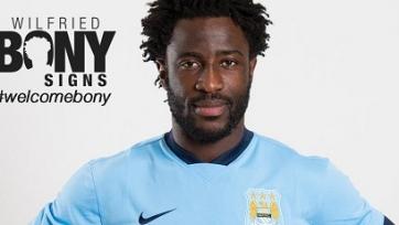 Официально. Вилфрид Бони стал игроком «Манчестер Сити»