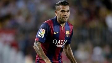 Дани Алвес готов как уйти, так и остаться в «Барселоне»