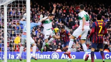 Второй состав «Барселоны» разгромил «Эльче»