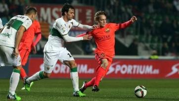 Халилович: «Мое место пока в «Барселоне Б», но я рад дебютировать за основную команду»