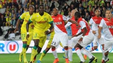 «Монако» вырвал три очка у «Нанта»