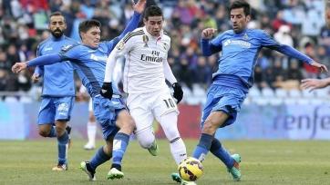 «Реал» уложил на лопатки «Хетафе»