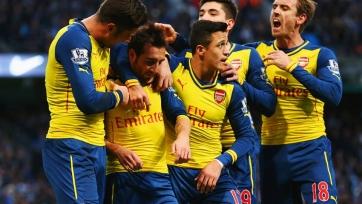 «Арсенал» бьет «Сити» в его же логове