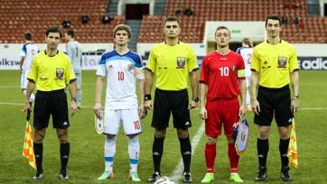 Молодежная сборная России не справилась с Молдовой