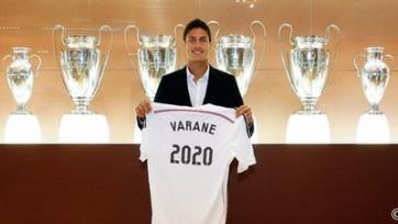 Рафаэль Варан остается верен «Реалу»