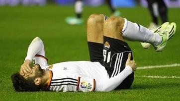 Барраган не поможет «Валенсии» в ближайших матчах