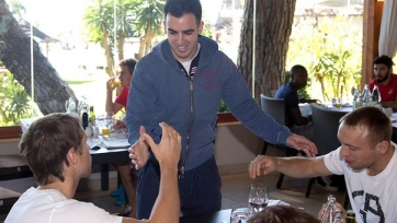 Хосе Хурадо: «Успешно добрались до Марбельи, начинаем подготовку»