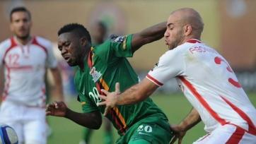 Сборная Туниса одержала первую победу на Кубке Африки