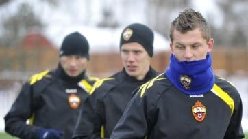 ЦСКА отправится на второй сбор без Нецида
