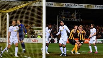 «Кембридж» озадачил «Манчестер Юнайтед»