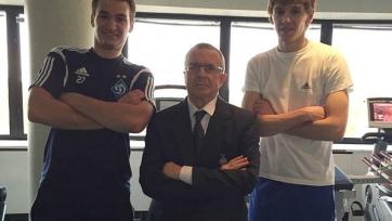 Макаренко и Гармаш присоединились к «Динамо»