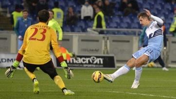 Волевая победа «Лацио» над «Миланом»