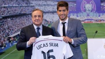 «Реал» презентовал Лукаса Силву