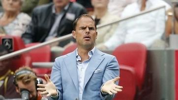 Де Бур: «Наши футболисты вышли на поле, будто лишь для того, чтобы побегать»