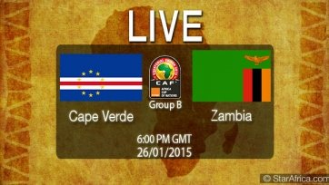 Кабе-Верде и Замбия сыграли вничью