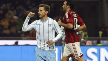«Лацио» снова обыграл «Милан», выбив «россонери» из Кубка Италии
