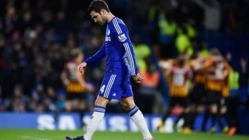 Фабрегас травмировался в игре с «Ливерпулем»