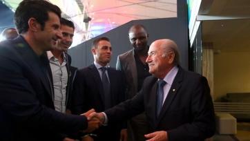 Луиш Фигу будет баллотироваться на пост президента ФИФА