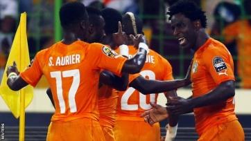 Кот-д'Ивуар побеждает Алжир