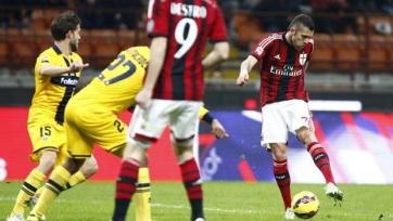 Жереми Менез принес победу «Милану»