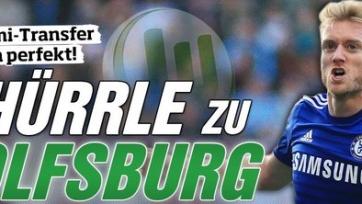 Daily Mail: «Челси» и «Вольфсбург», наконец, договорились, касаемо Шюррле