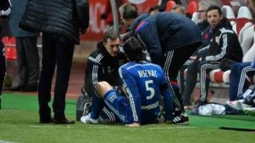 Милан Бишевац выбыл из строя до конца сезона