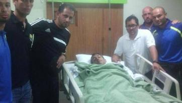 В Венесуэле болельщики ограбили футбольную команду и пырнули ножом ее футболиста