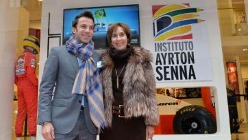 Алессандо дель Пьеро примет участие в выставке памяти Айртона Сенны