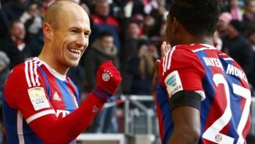 «Бавария» добыла первую викторию в 2015-м году