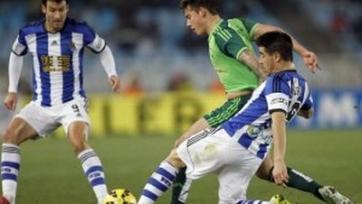 «Реал Сосьедад» упустил домашнюю победу