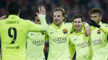 Победа над «Атлетиком» стала юбилейной для «Барселоны»