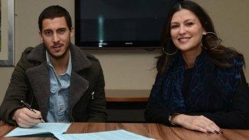Официально. Эден Азар продлил контракт с «Челси»