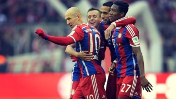 «Бавария» опозорила «Гамбург»